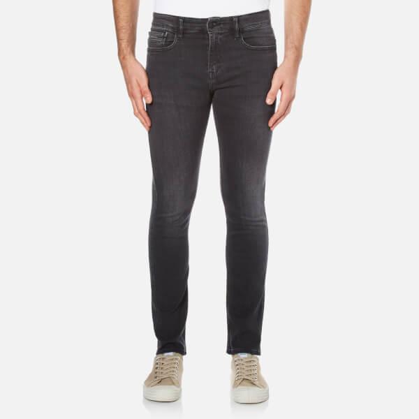 Calvin Klein Men's Super Skinny 5 Pocket Jeans - Elastic Black