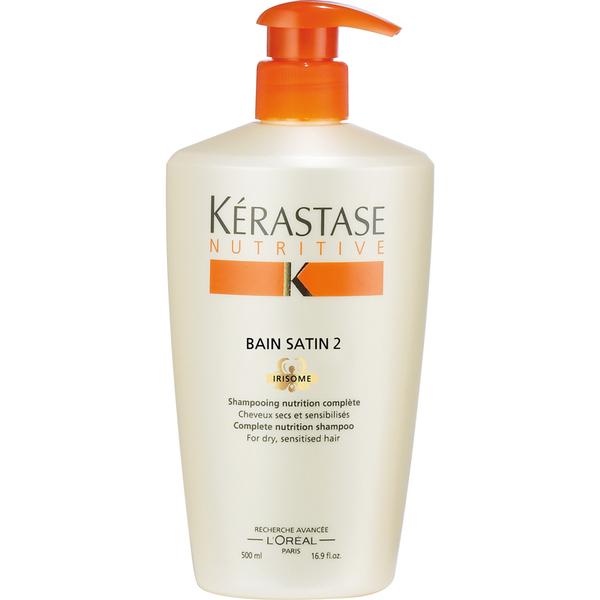 K rastase nutritive bain satin 2 shampoo 500ml free for Kerastase reflection bain miroir 2 shampoo