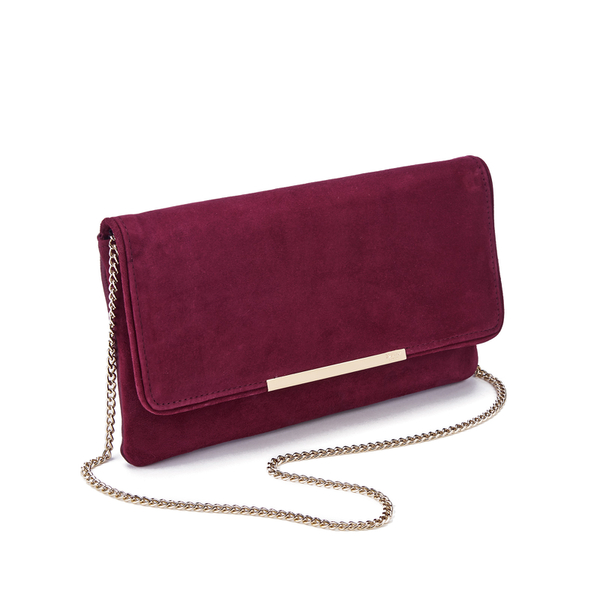 Dune Women S Belma Clutch Bag Berry Image 2