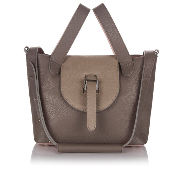 meli melo Women's Thela Mini Tote Bag - Taupe/Dusty Pink