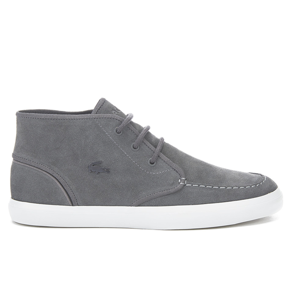 Sevrin Mid Leather Trainers - Grey Lacoste waduhT