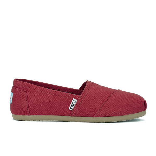 TOMS Women's Core Classics Slip-On Pumps - Red