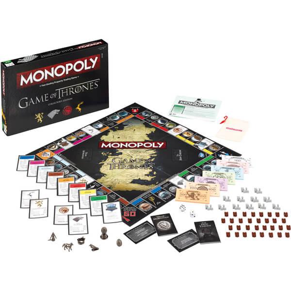 Monopoly Game Of Thrones Edition Toys Zavvi Com