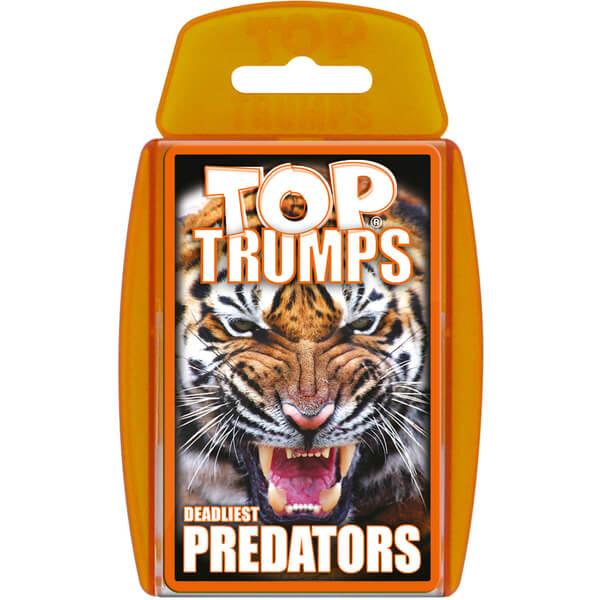 Classic Top Trumps - Predators