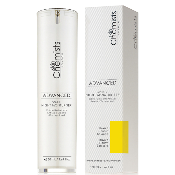 skinChemists Advanced Snail Night Moisturizer 50ml