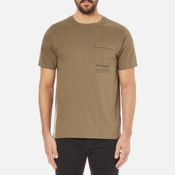 Maharishi Men's Miltype Short Sleeve T-Shirt - Maha Olive
