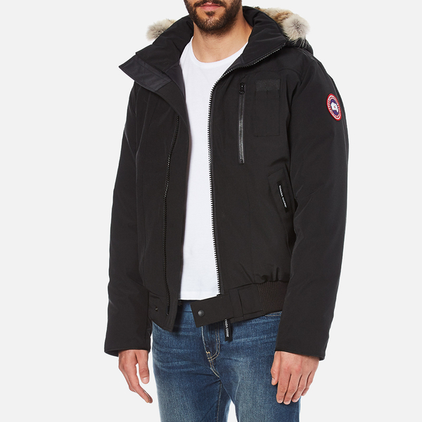 Canada Goose Men's Borden Bomber Jacket - Black: Image 2