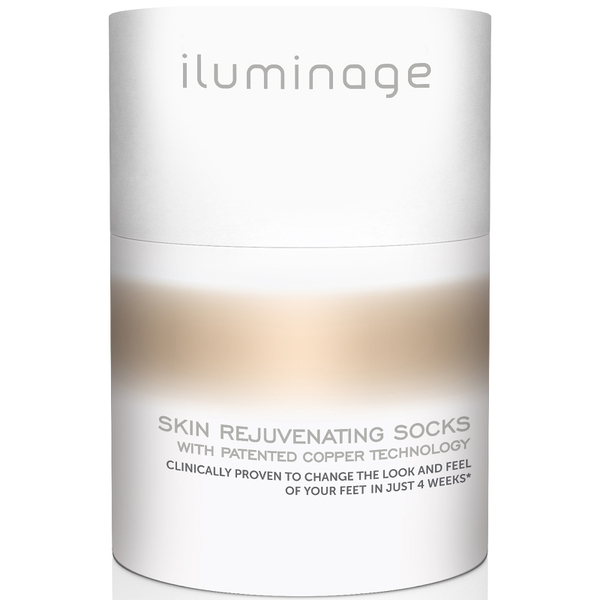 Iluminage Skin Rejuvenating Socks M/L