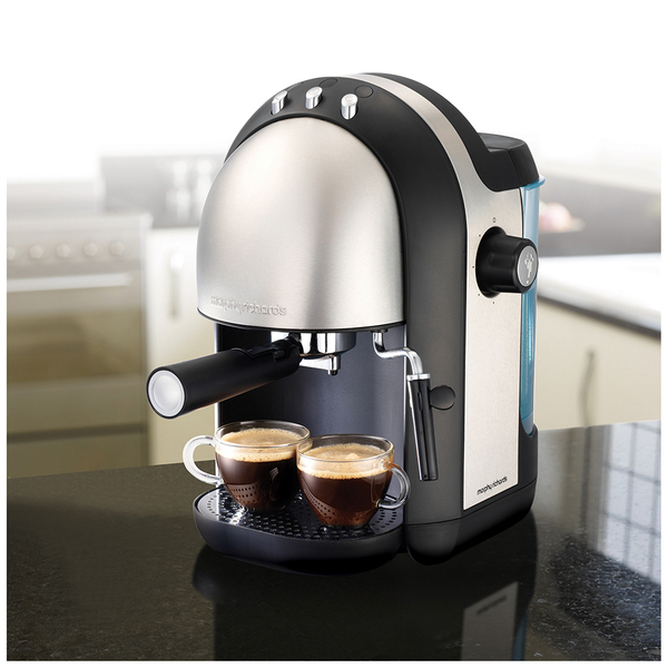 Morphy Richards 172004 Accents Brushed Espresso Coffee Maker IWOOT