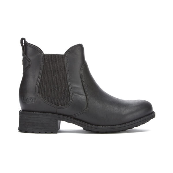 UGG Women's Bonham Leather Chelsea Boots - Black