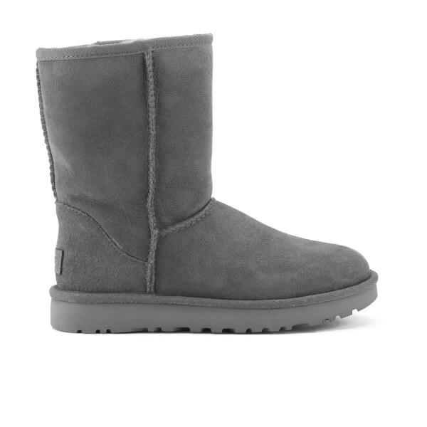 UGG Women's Classic Short II Sheepskin Boots - Grey