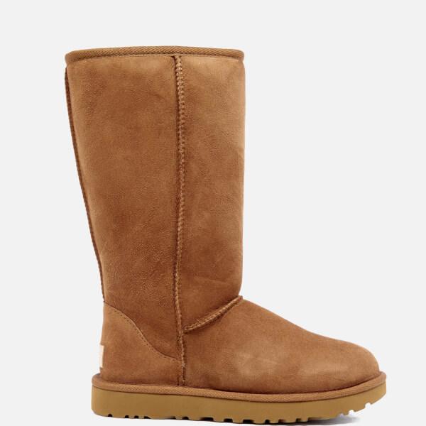 ugg women s classic tall ii sheepskin boots chestnut free uk rh allsole com