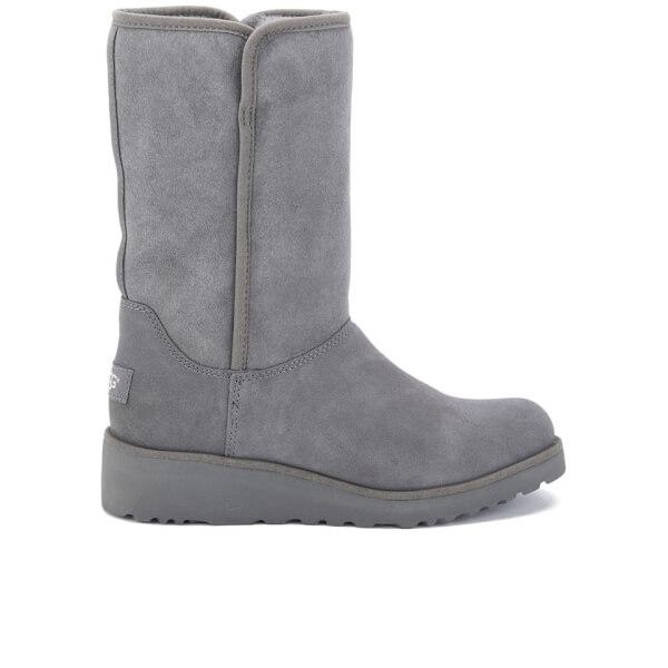UGG Women's Amie Classic Slim Sheepskin Boots - Grey