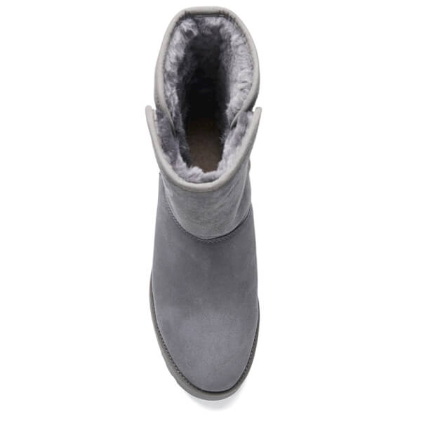 UGG Women s Amie Classic Slim Sheepskin Boots - Grey  Image 3 c20f3905d1