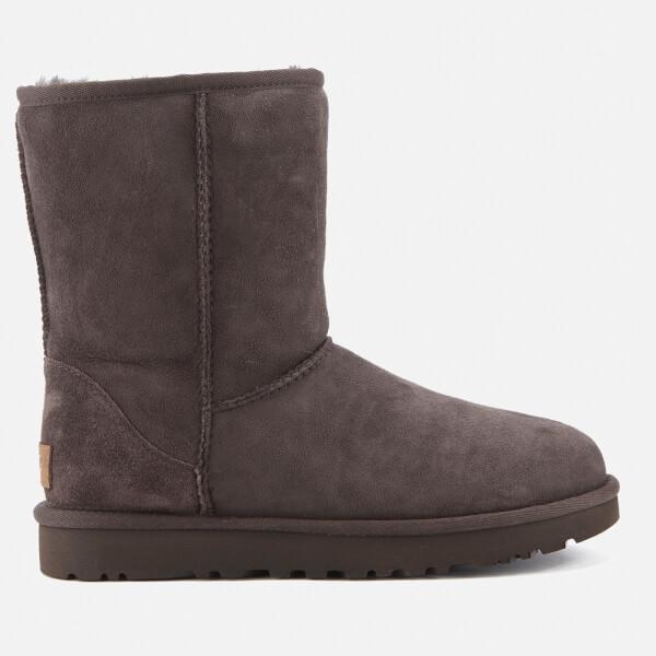 UGG Women's Classic Short II Sheepskin Boots - Chocolate - UK 3.5 nx4tGWeNx