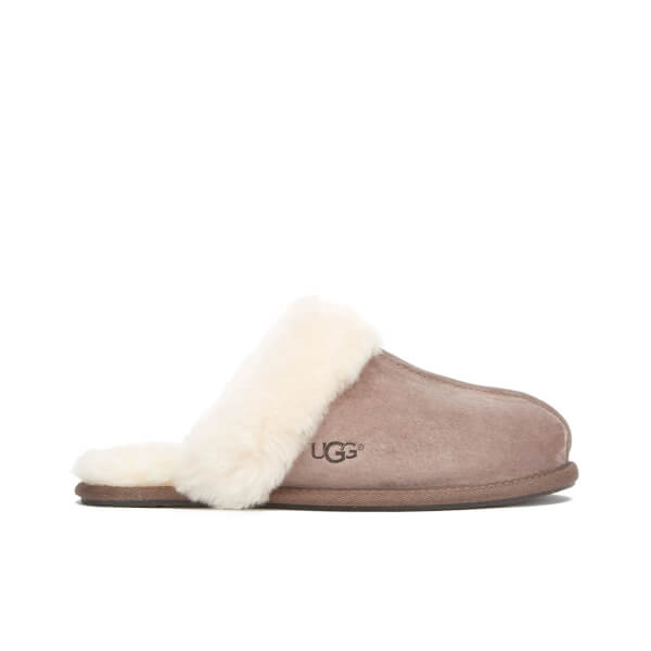 UGG Women's Scuffette II Sheepskin Slippers - Stormy Grey