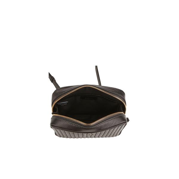 d2b54c4c1b DKNY Women s Gansevoort Pinstripe Quilted Square Crossbody Bag - Black   Image 5