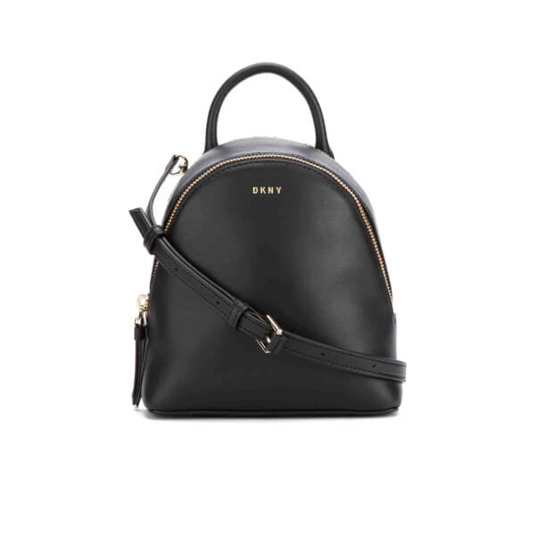 DKNY Women's Greenwich Mini Backpack - Black