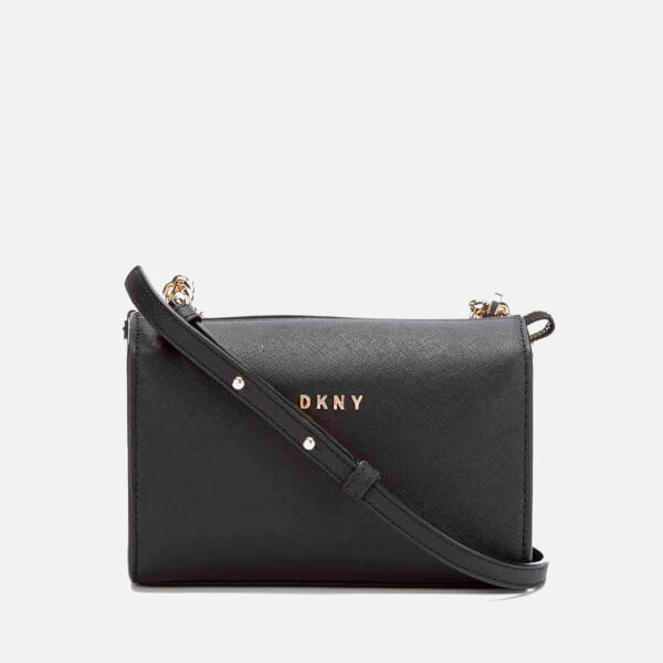 DKNY Women's Bryant Park Square Crossbody Bag - Black
