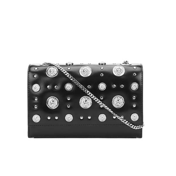 Versus Versace Women's Stud Shoulder Bag - Black/Nickel