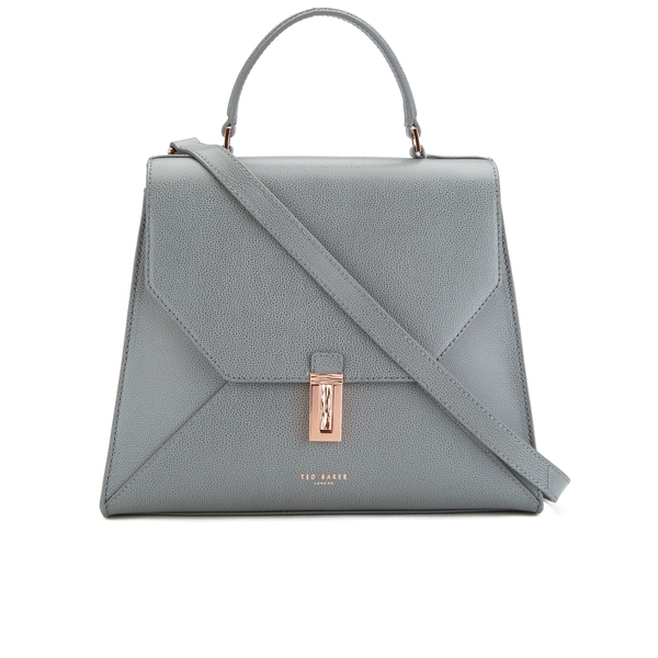 0cd66eafad Ted Baker Women's Ellice Top Handle Bag - Gunmetal: Image 1