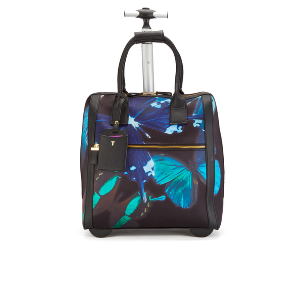 06b283104d89 Ted Baker Women s Tallula Butterfly Collective Travel Bag - Black  Image 1