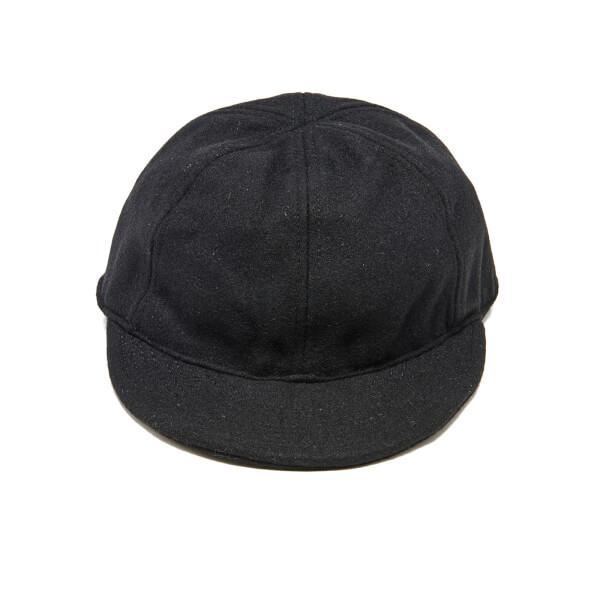 Nigel Cabourn Men's Wool USMC Cap - Black/Navy