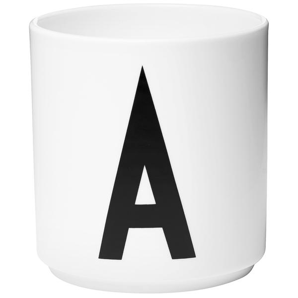 Design Letters Porcelain Cup - A