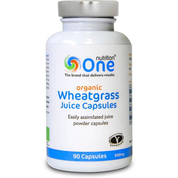 Wheatgrass pills