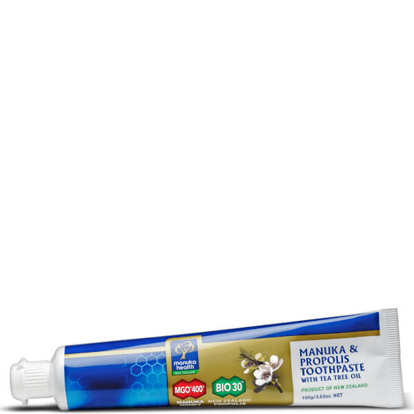 Propolis and MGO 400 Manuka Honey Toothpaste with Tea Tree Oil - 100g