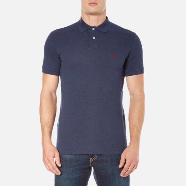 Ralph Lauren Men's Custom Fit Short Sleeve Crew Neck T-Shirt 18Sf9j
