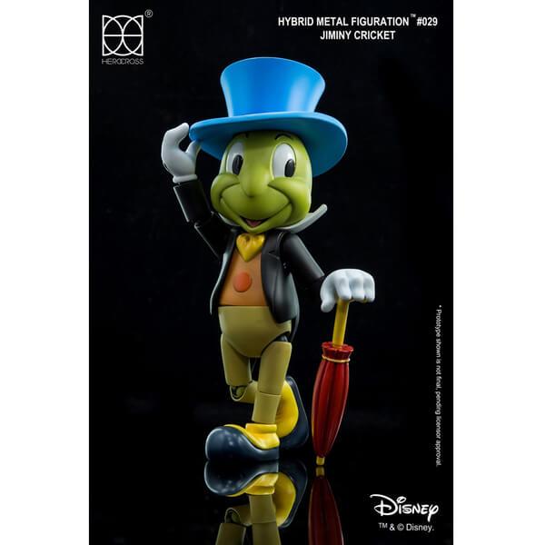 Disney Hybrid Metal Action Figure Jiminy Cricket 14cm