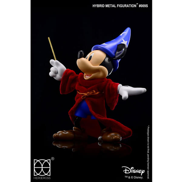Disney Hybrid Metal Action Figure Sorcerer Mickey 21cm