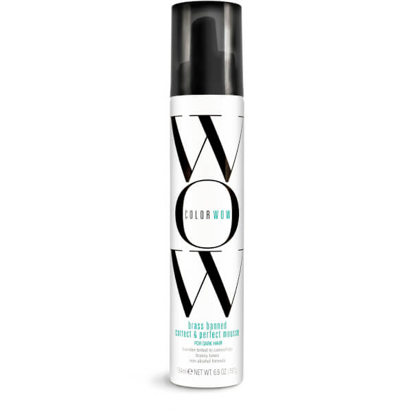 Colour WOW Brass Banned Correct and Perfect Mousse for Dark Hair 200ml