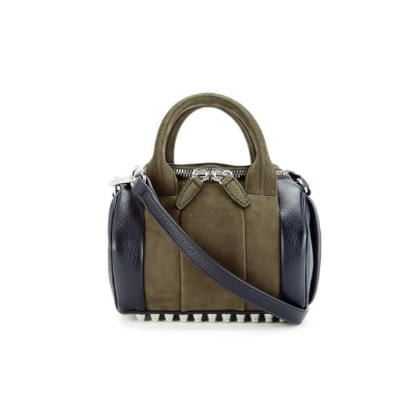 Alexander Wang Women's Mini Rockie Cross Body Bag - Dark Grass/Black