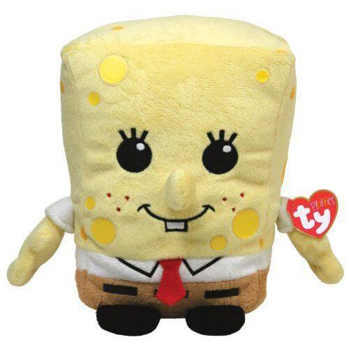 Ty Pluffies SpongeBob SquarePants Beanie Babies Pluffies