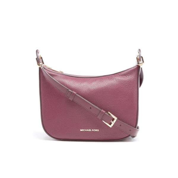 MICHAEL MICHAEL KORS Women's Raven Mid Messenger Bag - Plum