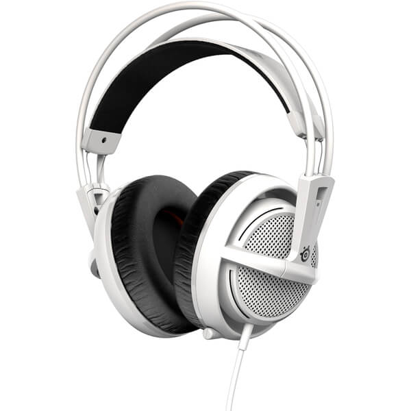 Casque de Gaming SteelSeries Siberia 200 -Blanc