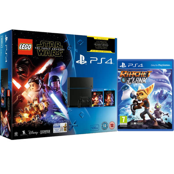 Sony PlayStation 4 500GB - Includes LEGO Star Wars: The Force ...