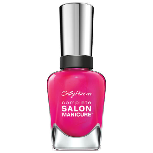Sally Hansen Complete Salon Manicure 3.0 Keratin Strong Nail Varnish - Back To The Fuchsia 14.7ml