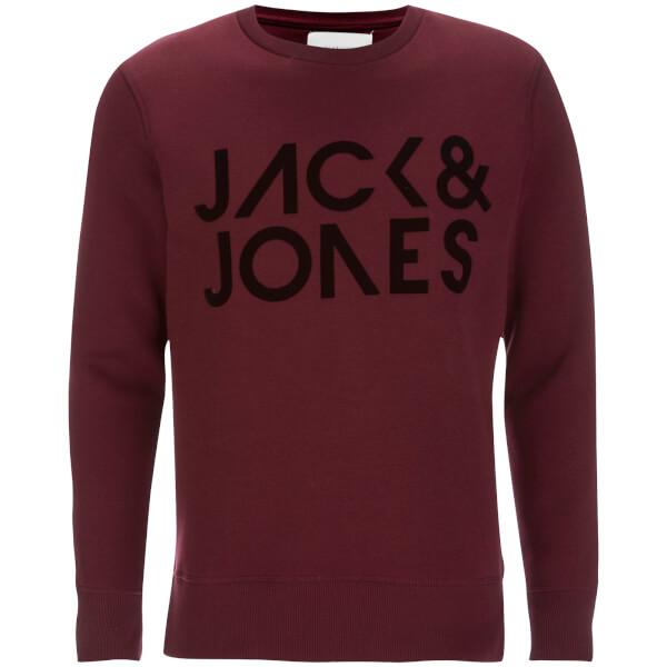 Sweat Jack & Jones pour Homme Core Sharp -Bordeaux