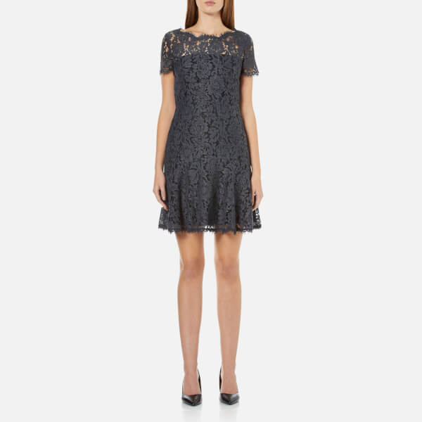 Diane von Furstenberg Women's Fifi Dress - Grey Melange