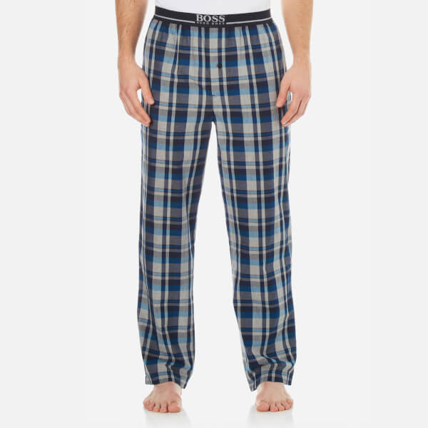 BOSS Hugo Boss Men's Long Pyjama Pants - Blue
