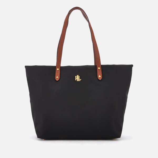 Lauren Ralph Lauren Women's Bainbridge Tote Bag - Black