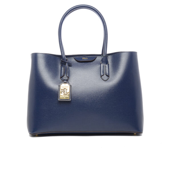 Lauren Ralph Lauren Women\u0027s Tate City Tote Bag - Navy: Image 1