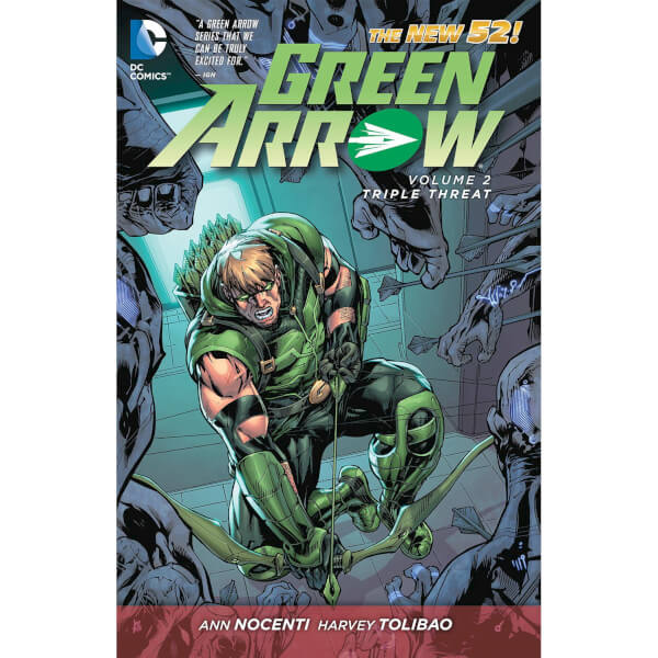 Green Arrow: Triple Threat - Volume 2 Graphic Novel