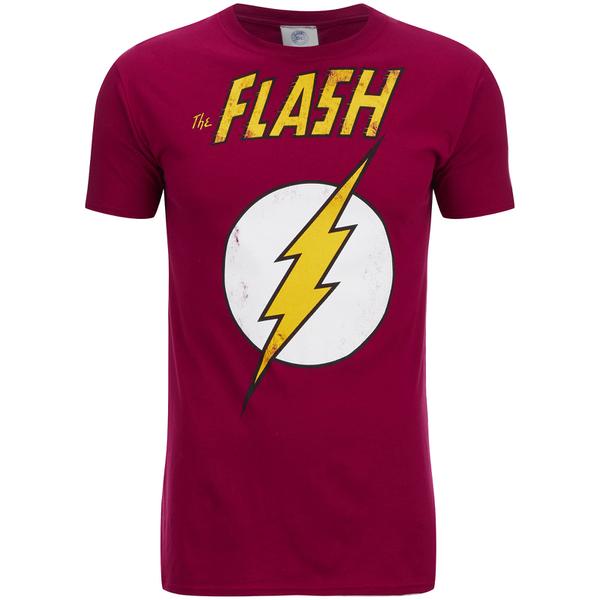 DC Comics Men's Flash T-Shirt - Red
