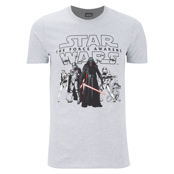 Star Wars Men's The First Order T-Shirt - Grey
