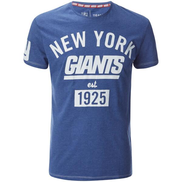 NFL Men's New York Giants Logo T-Shirt - Blue
