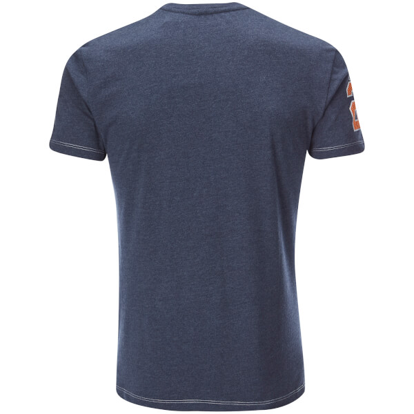 NFL Mens Chicago Bears Logo TShirt  Navy Clothing  Zavvi.com